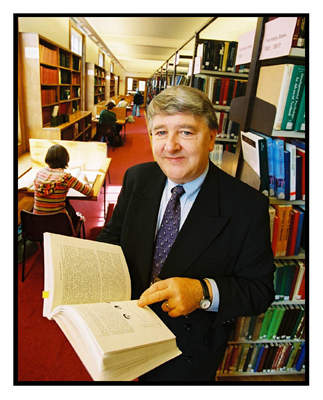Bill Simpson librarian